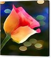Party Rose Canvas Print