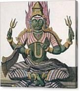 Parvati, From Voyage Aux Indes Et A La Canvas Print