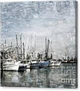 Pass Christian Harbor Canvas Print