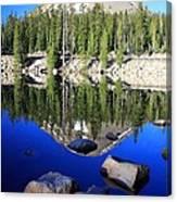 Pass Lake Canvas Print