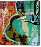 Passangers Paintbrush  Canvas Print