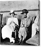Passengers On Ship, 1912 Canvas Print