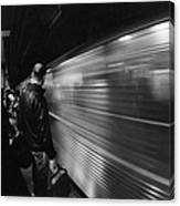 Passing By Canvas Print