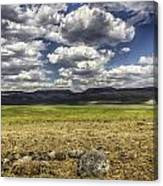 Passing Clouds Canvas Print