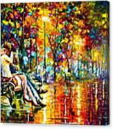 Passion Evening -  New Canvas Print