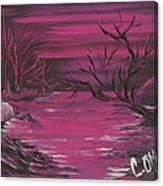 Passion Falls Canvas Print
