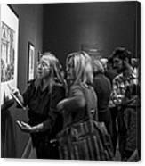 Passionate About Art Canvas Print