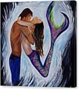Passionate Mermaid Canvas Print