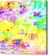 Pastel Abstract Patterns I Canvas Print