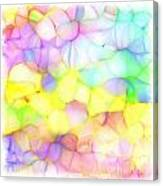 Pastel Abstract Patterns IIi Canvas Print