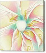 Pastel Flower Canvas Print