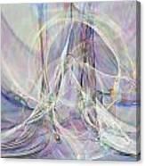 Pastel Fractal Canvas Print