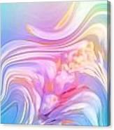 Pastel Moves Canvas Print