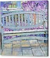 Pastel Patio Canvas Print