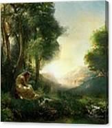 Pastoral Meditation Canvas Print