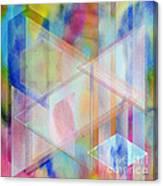 Pastoral Moment - Square Version Canvas Print