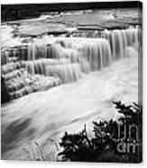 Patagonia Rio Glaciar Waterfall Canvas Print