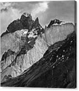 Patagonian Mountains Canvas Print