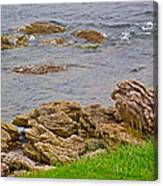 Patch Reefs At Point Amour In Labrador Canvas Print