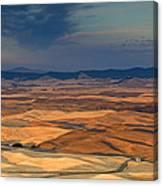 Patched Palouse Canvas Print