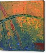 Patches Of Red Canvas Print