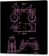 Patent Art 1920 Herzog Hobby Horse Pink Canvas Print