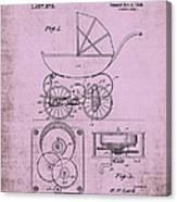 Patent Art Baby Carriage 1920 Lark Invite IIi Canvas Print