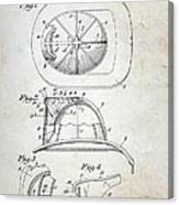 Patent - Fire Helmet Canvas Print