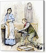 Patent Medicine Salesman Canvas Print