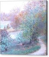 Path By The River Canvas Print