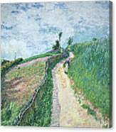 Path Leading To Ville D'avray Canvas Print