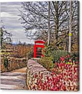 Path Through The Cotswolds Canvas Print
