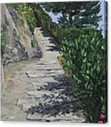 Path To L'eremo Sul Mare Canvas Print