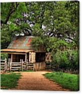 Path To The Barn Canvas Print