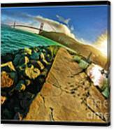 Path To The Golden Gate Canvas Print
