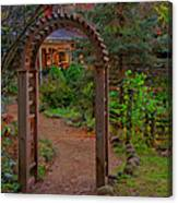Path To The House Canvas Print