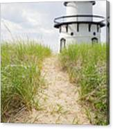 Path To The Lighthouse Canvas Print