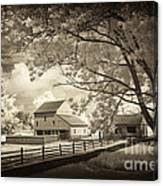 Path To The Old Barn Canvas Print