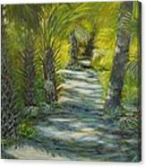 Path To The Point Canvas Print