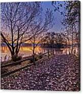 Path To The Serene Canvas Print