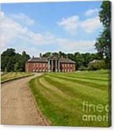 Pathway To Adlington Hall Canvas Print