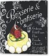 Patisserie And Confiserie Canvas Print