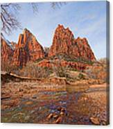 Patriarchs Of Zion Canvas Print