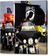 Patriot Riders Canvas Print