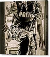 Patriot3 Second Floor Entry Canvas Print
