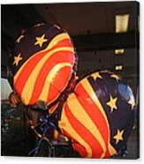 Patriotic Balloons Veteran's Day Casa Grande Arizona 2004 Canvas Print