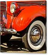 Patriotic Car Canvas Print