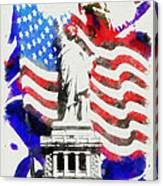 Patriotic Symbolism Canvas Print