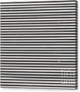 Pattern - Corrugated Metal Canvas Print