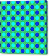 Pattern Of Circles Canvas Print